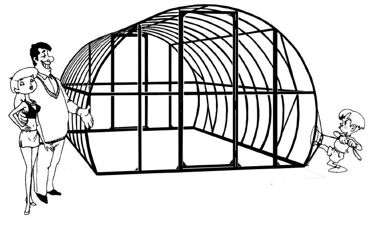 сборке по «сфера-спб» теплица инструкция